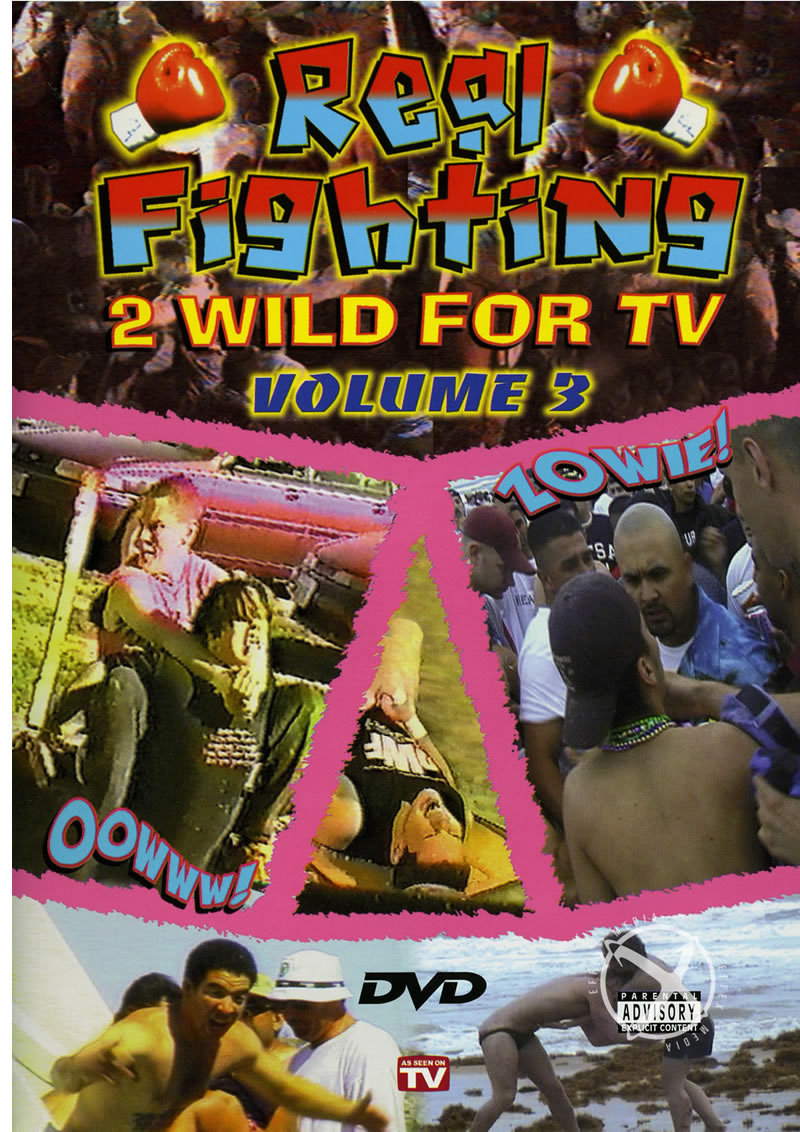 Real Fighting 2 Wild For Tv  3(disc)